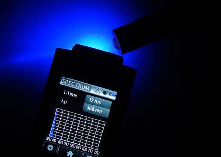 370nmスペクトル