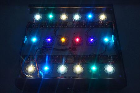 Maxspect max-s G2 60W改(超浅場仕様) LED発光状態