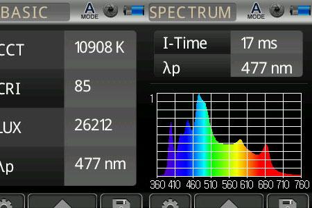 Maxspect max-s G2 60W改(超浅場仕様) 実測スペクトル