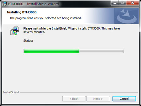 Biotek Marine BTM3000 USB PARセンサー:ソフトウェアインストール