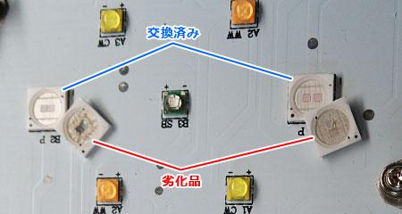Maxspect Razor:UVデュアルチップ素子の交換(要リフロー)