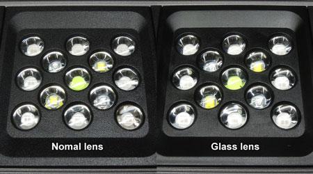 外観比較:純正レンズ vs ガラスレンズ