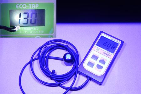 Razor 15000K 130W 消費電力&PPFD@30cm
