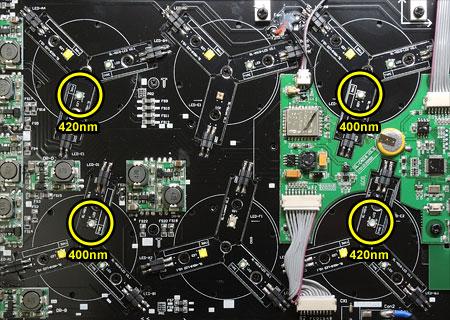 AQUA SANRISE PLUS MMCスペシャル R30 UV強化の換装対象LED素子