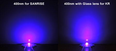 AQUA SANRISE PLUS MMCスペシャル UV素子ビーム比較
